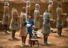 Aparecen otras cien figuras de terracota en Xian · nationalgeographic.com.es · Actualidad