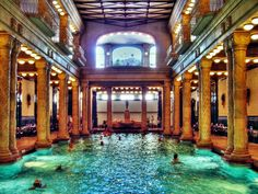 Today we feature chop1n's photo about one of the most beautiful spas in Budapest, the Gellért Bath. Its a hotel and spa together with a special atmosphere.    Hungary is really famous of spas and baths, we are very rich in thermal sources. You can find a lot of spa Hotels in Hungary.