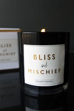 Rockett St George Scented Candles - Bliss And Mischief - View All - Home Accessories