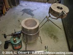 backyard metal casting creating one soon