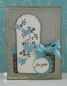 Love it! Purchase your Stampin Up supplies at http://srussell.stampinup.net