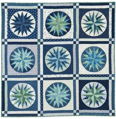 Martingale - Mariners Compass Quilt ePattern