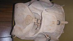 Vintage Camel Leather Back Pack With Camel Embossed Logo ! Hard To Find ! - $67.77