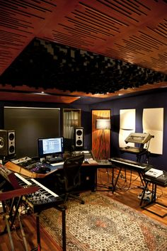 Vicoustic treated Recording Studio