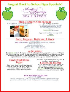 Don't let our August specials pass you by! Spa Specials, Gel Polish Manicure, Spa Packages, Time Kids, Salon Services, Body Wraps, Environment Design, Spa Treatments, Plastic Surgery