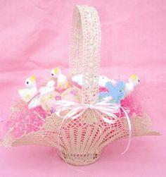 Free Crochet Easter Basket Patterns | crochet videos for easter baskets