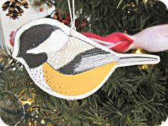 Every year, I try to make a few new ornaments for our Christmas tree. This year, I got on kind of an ornament making-spree, making several...