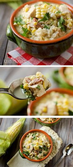 No time? Pin this Healthy Crock Pot Jalapeño, Chicken & Sweet Corn Soup for a quick dinner recipe when you're in a rush.