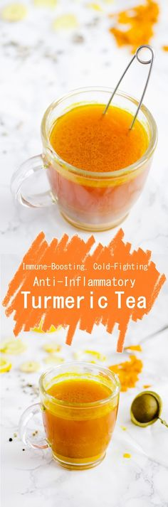 Immune-Boosting, Cold-Fighting, Anti-Inflammatory Turmeric Tea |Euphoric Vegan