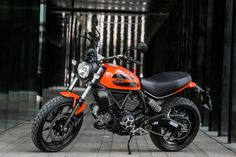 2016 Ducati Scrambler Sixty2 static side view