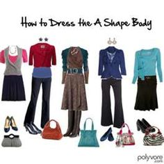 how to dress the A body shape