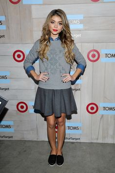 Sarah Hyland in Target. | 21 Celebs Who Actually Rocked Affordable Labels In 2014