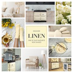 Similar to Cream, the most popular AGA colour, but cooler, with a less yellow tone. Linen is wonderfully soft shade to base your kitchen around.