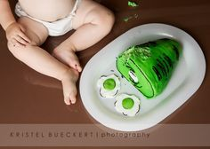 Green Eggs and Ham Cake
