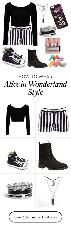 """Black & White: Back to School"" by icedancegirl on Polyvore"