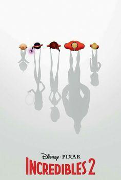 the incredibles 2 disney pixar film 2018 Animated Movie Posters, Marvel Movie Posters, Disney Movie Posters, Disney Pixar Movies, Disney And Dreamworks, Disney Art, Dreamworks Movies, Original Movie Posters, Incredibles 2 Poster
