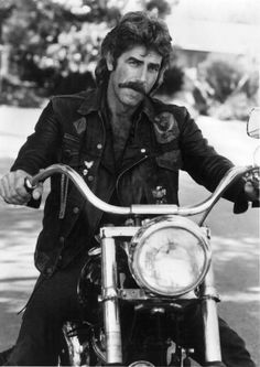 Sam Elliott AND he's on a Harley,