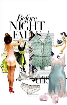 Lingerie, created by arnetta on Polyvore