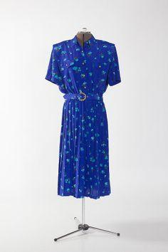 Vintage Truly Blue Dress (S: 16)