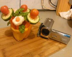 Cooking for Guinea Pigs: Flower Power - How to Video #guineapigs