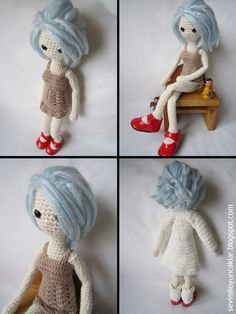 Amigurumi Winter Doll Pattern $8.5
