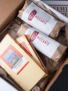 Piccante Salami Packaging