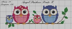 Cross Stitch Owl, Cross Stitch Books, Cross Stitch Bookmarks, Cross Stitch Animals, Cross Stitch Designs, Cross Stitch Embroidery, Cross Stitch Patterns, Cross Stitches, Owl Quilts