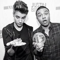 Justin and Alfredo