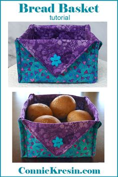 I don't know about you, but I love sewing for Easter. Here's not one bunny sewing pattern, but 20 free sewing patterns Fat Quarters, Quilt Tutorials, Sewing Tutorials, Fabric Basket Tutorial, Fat Quarter Projects, Vide Poche, Leftover Fabric, Sewing Hacks, Sewing Tips
