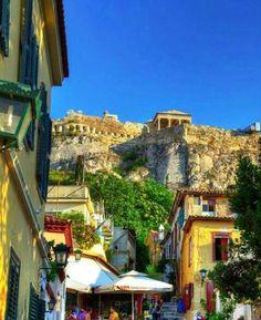Plaka, Athens! So pretty! Someday...