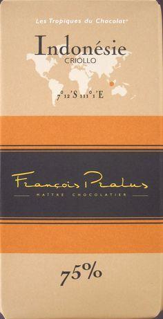 François Pralus Indonésie Criollo, 75%: Dunkle Schokolade aus Indonesien