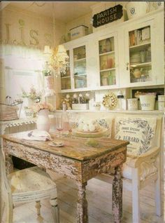 Shabby Chic Rustic Cottage