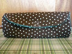 Changing Pad Clutch. Holds 2 diapers and wipes