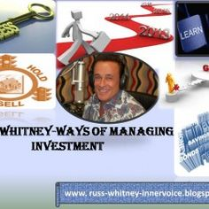Russ Whitney's Financial Planning can help individuals find unique opportunities for long term future endeavors.Any investments can raise your income