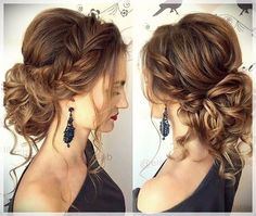 summer wedding hairstyles for medium length hair - Wedding dresses -. - Over 50 summer wedding hairstyles for medium length hair - hair Elegant Hairstyles, Messy Hairstyles, Pretty Hairstyles, Hairstyle Ideas, Hair Ideas, Hairstyles 2016, Latest Hairstyles, Pinterest Hairstyles, Layered Hairstyles