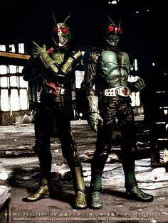 Kamen Rider Ichigo 1go Nigo 2go - Bandai S.I.C MVR
