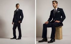 GROOMS MODERN WEDDING ATTIRE | Calling All Dapper Grooms And Groomsmen: The Wedding Collection by ...