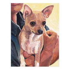Chihuahua Dog Art Postcard  teacup chihuahua puppies, chihuahua bed, tea cup chihuahua #chihuahua #Chihuahuasofinsragram #chihuahuasinbed Dog Lover Gifts, Dog Lovers, Dachshund, Puppy Crafts, Chihuahua Puppies, Chihuahua Tattoo, Chihuahua Quotes, Animal Halloween Costumes, St Bernard Dogs
