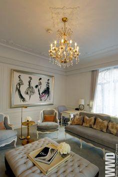 Love the antique furniture, very regal!