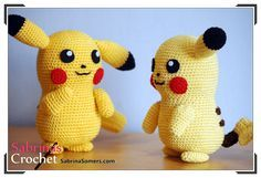Sabrina's Crochet - Free crochet pattern Pikachu (Pokemon)