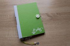 Babytagebücher - MärzBlatt - Babytagebuch - A5 - ein Designerstück von mpodleisek bei DaWanda