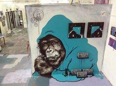 Sapient Experiment Installation by #RubenUbiera, #street #art @urbanruben