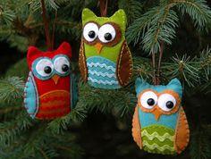 Owl Felt Craft from Juicy Bits