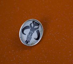 Cool Boba Fett mandalorian Oval Pin Back by UnofficiallyOriginal
