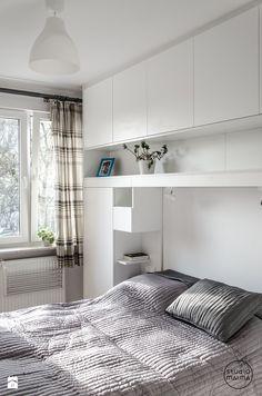 Sypialnia styl Skandynawski - zdjęcie od Studio Malina – Architekci & Projektanci wnętrz - Sypialnia - Styl Skandynawski - Studio Malina – Architekci & Projektanci wnętrz