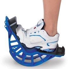 The Plantar Fasciitis Relief Rocker - Hammacher Schlemmer - Used by professional athletes, this is the stretching device that relieves the pain and discomfort of plantar fasciitis and helps prevent it from reoccurring.