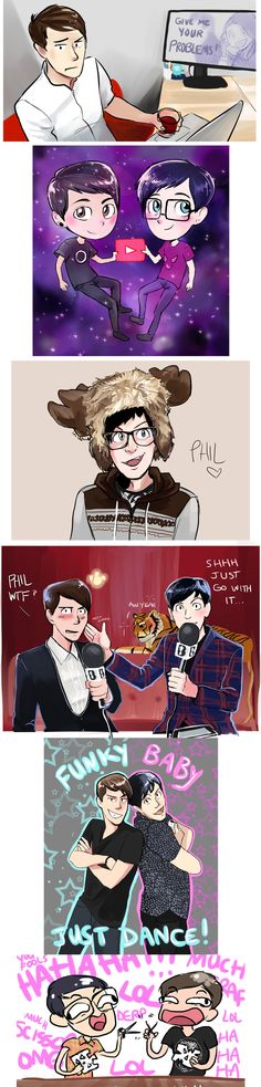 dan and phil five nights at freddy's - Google Search Like & Repin. Noelito Flow. Noel Music. | @ashiepop67 (Halloween Bake Dan And Phil)