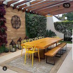 Pergola Ideas For Patio Patio Pergola, Backyard Patio Designs, Pergola Plans, Backyard Landscaping, Pergola Ideas, Modern Pergola, Outdoor Rooms, Outdoor Living, Outdoor Furniture Sets