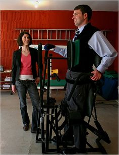 Francesco Clark Standing After Spinal Cord Injury, Striving for His Paralysis Cure Day by Day