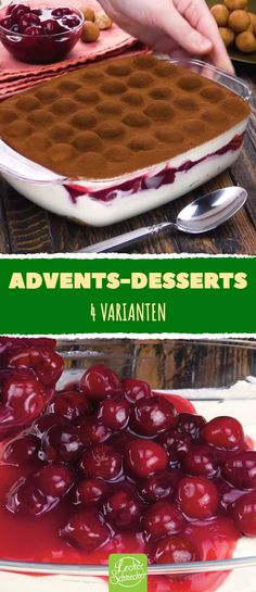 These dessert recipes are perfect for your Christmas menu. , Advent and Christmas also include festive desserts, in addition to many delicious hearty recipes. We have four dessert recipes that are wonderful for . Mini Desserts, Christmas Desserts, Easy Desserts, Dessert Recipes, Christmas Recipes, Baked Apples, Sweet Recipes, Delicious Recipes, Food And Drink